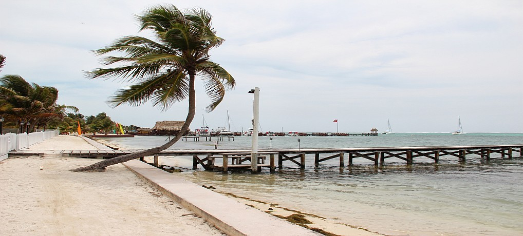 Beach at San Pedro Town Belize